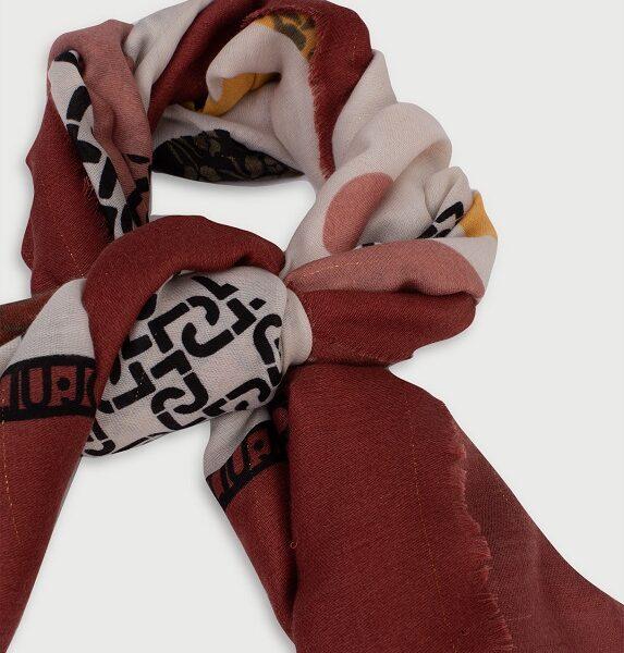 foulard maxi pois