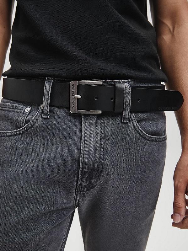 cintura uomo pelle