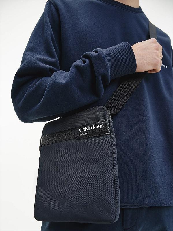 Calvin Klein borsello uomo in tessuto